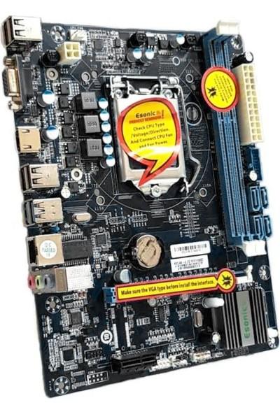 Esonic H81 Intel H81 DDR3 1600MHz 1150 Pin ATX Anakart