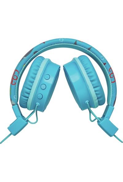 Trust 23607 Comı Bt Kulaküstü Çocuk Kulaklık - Mavi