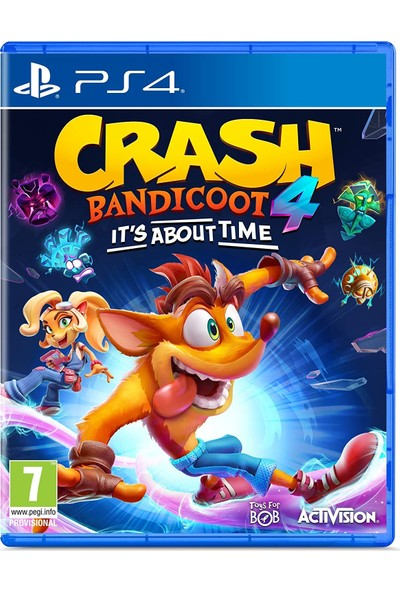 Crash Bandicoot 4 It's About Time PS4 Oyun