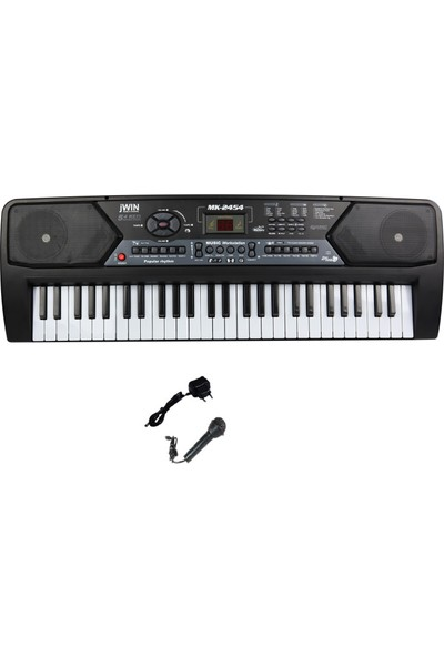 Jwin Mk-2454 54 Tuşlu Elektronik Org + Mikrofon+Adaptör
