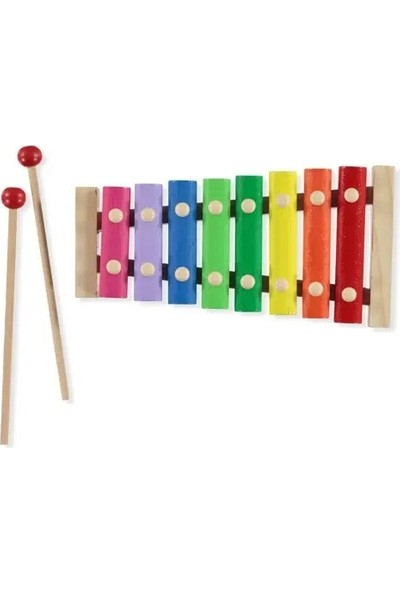 Playwood Kutuda Ahşap 8'li Ksilofon