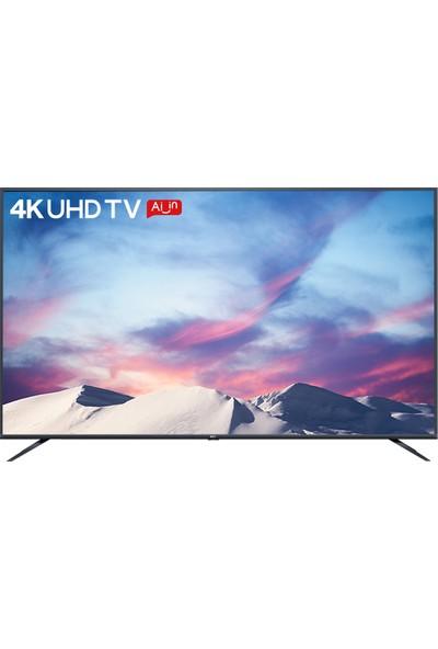 """TCL 50P8M 50"""" 126 Ekran Uydu Alıcılı 4K Ultra HD DVBS Android Smart LED TV"""