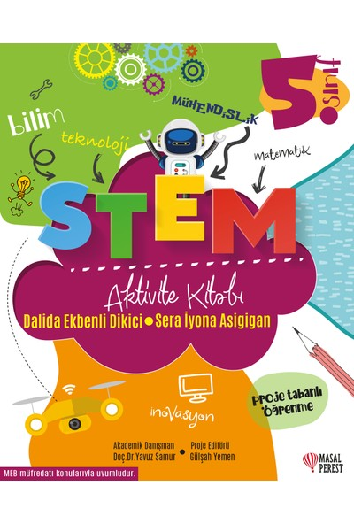 Stem Aktivite Kitabı 5.Sınıf - Dalida Ekbenli Dikici-Sera İyona