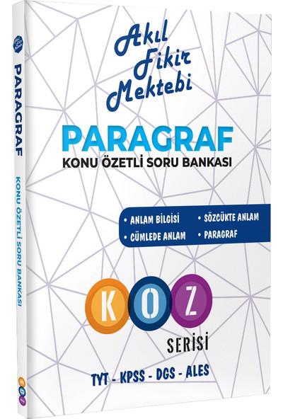 Akıl Fikir Mektebi Yayınları Paragraf Soru Bankası