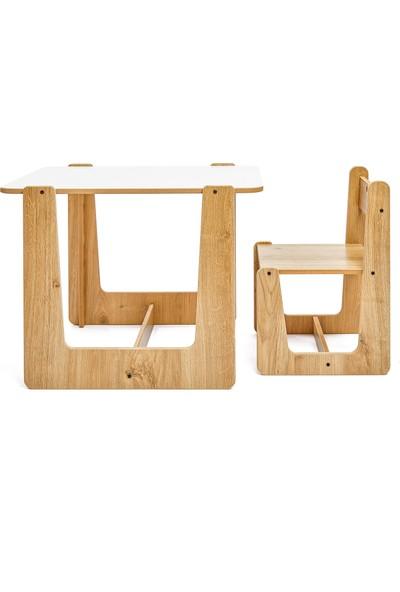 Minera 2-4 Yaş Turna Çocuk Oyun Masası ve Sandalyesi