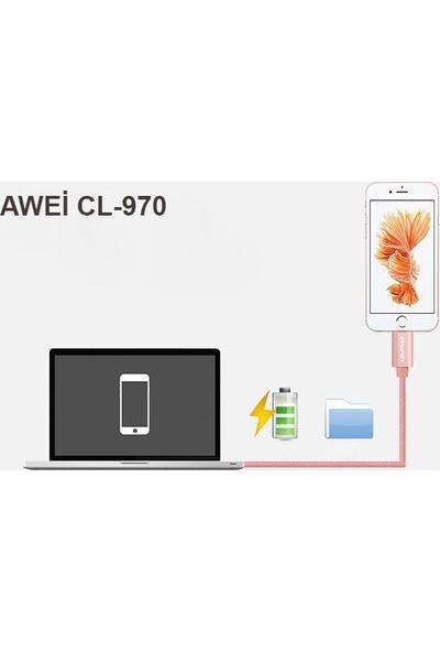 Awei CL-970 3in1 Şarj Kablosu