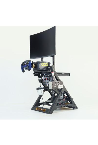 Ortombo Dd1+ Direct Drive Direksiyon Standı Tv - Monitör ve Konsol Aparatlı