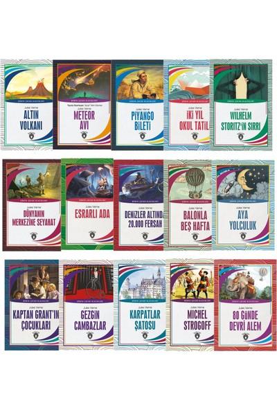 Dünya Çocuk Klasikleri - Jules Verne 7-12 Yaş 15´li Set