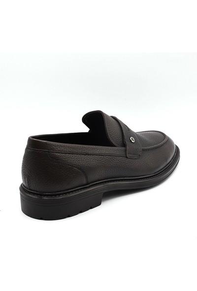 La scada 161070 Kahverengi Erkek Loafer Ayakkabı