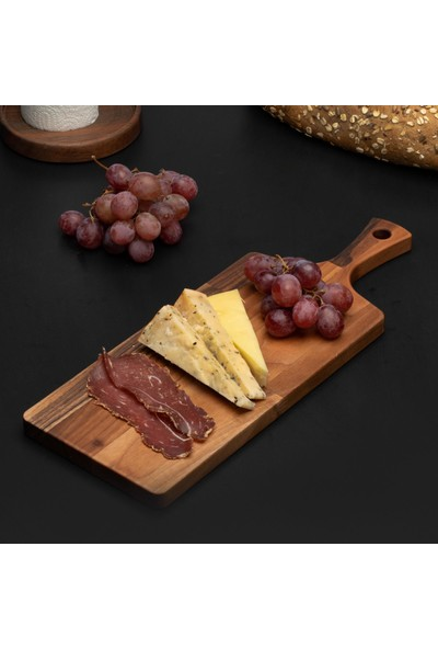 Bungalowa® Masif Ahşap Peynir Sunum Tahtası