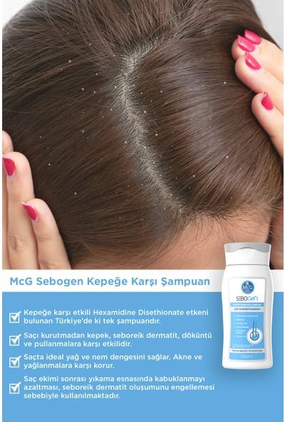 Mcg Yeni Sebogen Kepeğe Karşı Etkili Şampuan