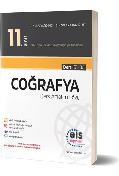 Eis Yayınları 11 Coğrafya Ders Anlatım Föyü