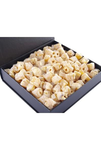 Bercekız Servet Şekerleme Şeker Ilavesiz Çifte Kavrulmuş Mandalinalı Fındıklı Lokum 800 gr