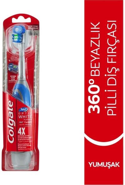 Colgate Optic White Platinum Pilli Diş Fırçası