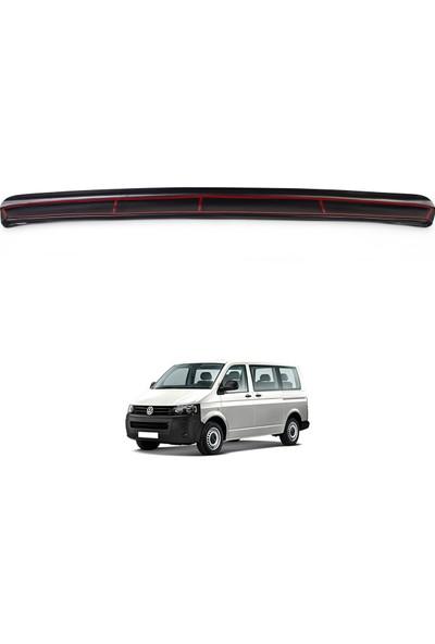 Volkswagen T5 Transporter Arka Tampon Eşiği Koruma (ABS) Mat Siyah 2009-2014