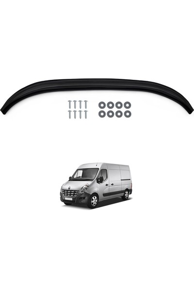 Renault Master Ön Tampon Lip Eki Karlık (ABS) Parlak Siyah 2010-2014