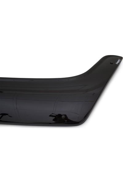 Renault Master Ön Kaput Koruyucu Rüzgarlık Deflektör Akrilik ABS 4mm Parlak Siyah 2010-2014