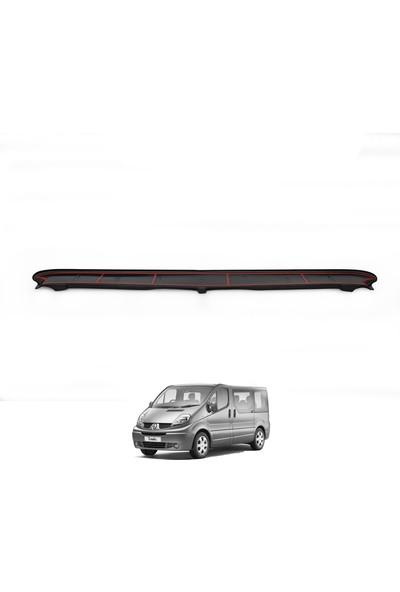 Renault Trafic Arka Tampon Eşiği Koruma Akrilik (ABS) Parlak Siyah 2001-2014