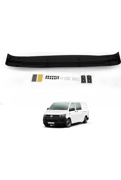 Volkswagen T6 Trasnporter Ön Cam Güneşliği Siperlik Vizör Şapka Terek (Abs) Parlak Siyah 2015 ve Sonrası