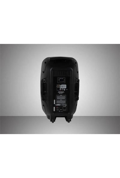 Jameson TR-158PRO Bluetooth Taşınabilir Amfili Hoparlör