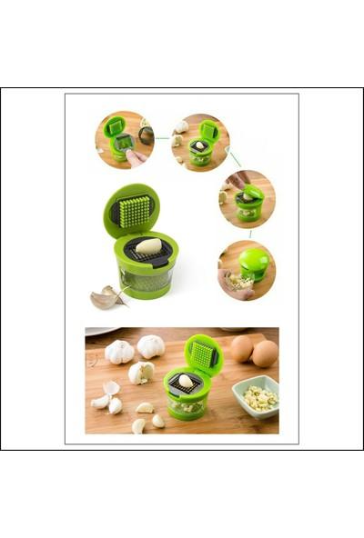 Kitchen Love Hazneli -2 Farklı Çelik Bıçaklı -Sarımsak Rendesi