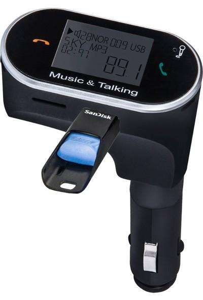 Sezy KB630C Yeni Sürüm Bluetooth Araç Kiti Mp3 Çalar Fm Transmitter