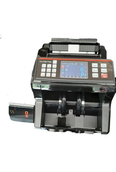 HunterTec Hl 2210 Konuşan Karışık Para Sayma Makinesi Siyah