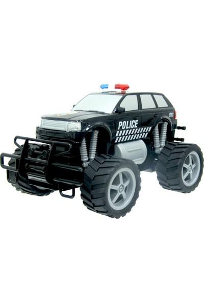 Sunman 1:18 Kumandalı Şarjlı Polis Arabası