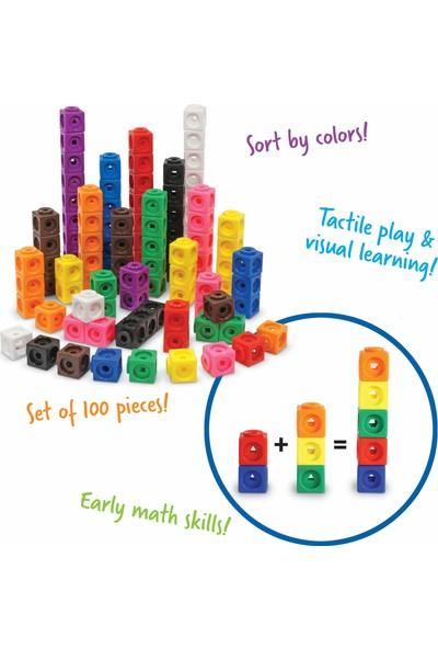 Learning Resources Mathlink Eğitici Küp Sayma Seti