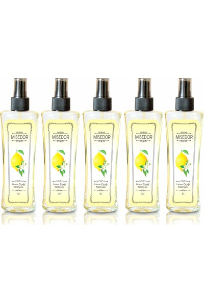 Misedor Limon Kolonyası 5 x 150 ml
