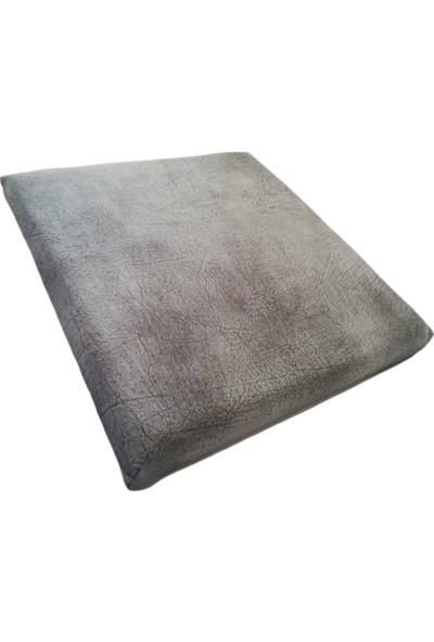 Under-x Her Çeşit Koltuğa ve Sandalyeye Uygun 40*40*5 cm Gri Minder