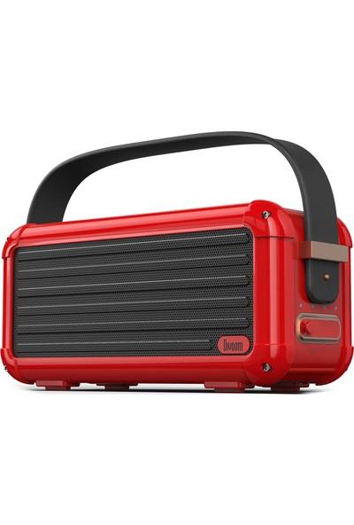 Divoom Mocha Bluetooth Hoparlör-Kırmızı
