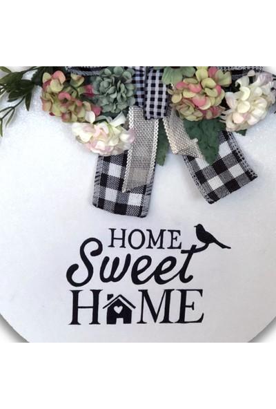 Db Handmade Arts & Crafts Home Sweet Home Kapı Süsü