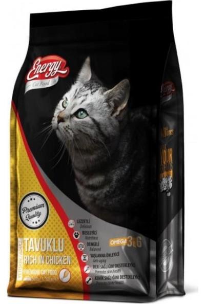 Energy Tavuklu Yetişkin Kedi Maması 1kg