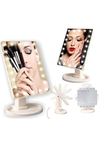 Makyaj Aynası Ledli Işıklı
