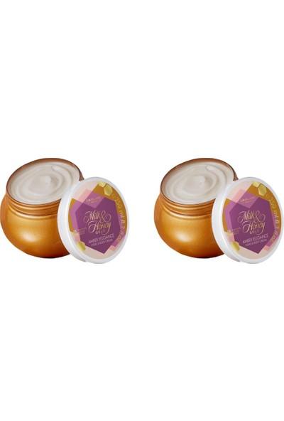 Oriflame Milk & Honey Gold Amber Elegance El & Vücut Kremi 250 ml - 2 Adet
