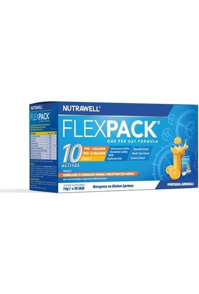 Nutrawell Flexpack Kollajen Portakal Aromalı Glutensiz