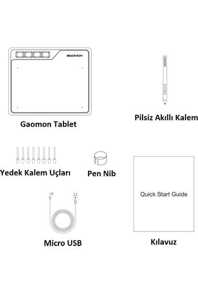 Gaomon S620 6.5x4 Grafik Tablet