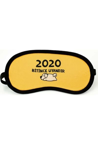 2020 Bitince Uyandır Tasarımlı Uyku Bandı