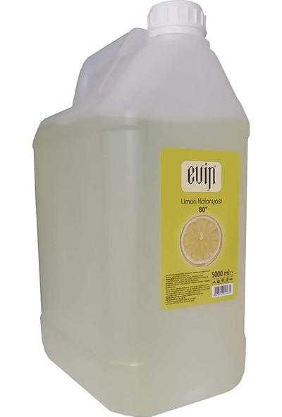 Evin Limon Kolonyası 80 Derece 5 lt