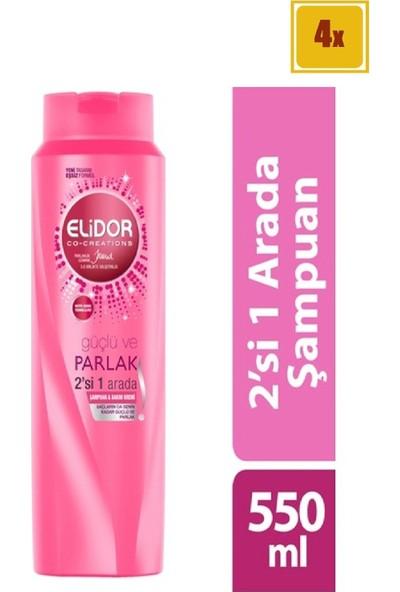 Elidor Saç Bakım Şampuanı 500 ml x 4 Adet