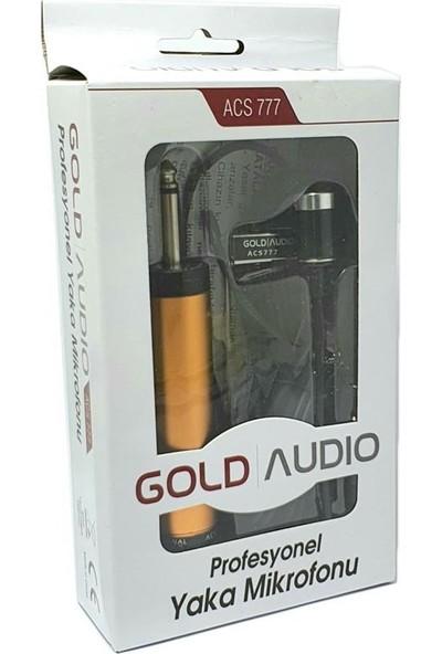 Gold Audio ACS777 Kablolu Yaka Mikrofonu