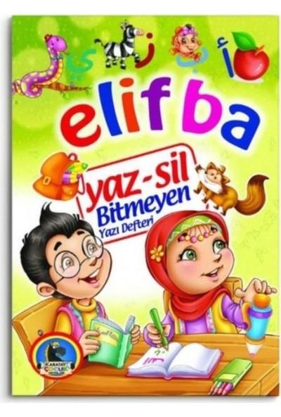 Karatay Yayınları Karatay Çocuk Yayınları Yaz Sil Elif Ba