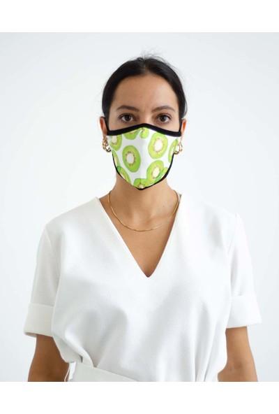 İpeks Yıkanabilir Asmalı Maske Kivi