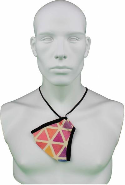 İpeks Yıkanabilir Asmalı Maske Piramit