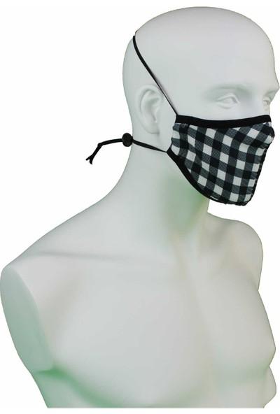 İpeks Yıkanabilirasmalı Maske Pötikare
