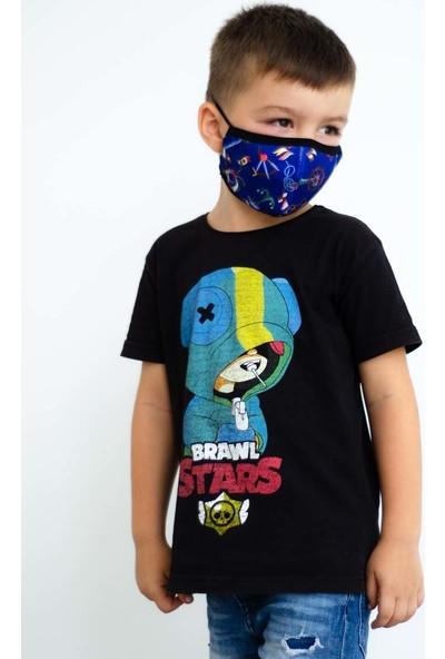 İpeks Yıkanabilir Çocuk Asmalı Maske Denizci