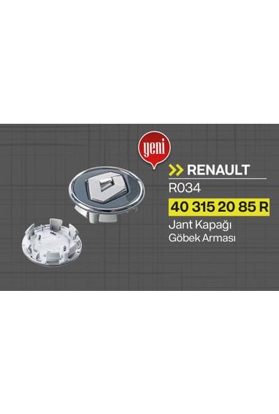 TİSA Renault Jant Kapağı Göbek Arması (1 Adet) Çapı 5.7 cm