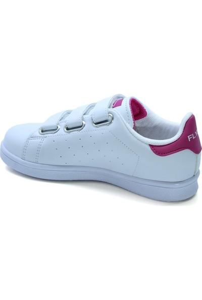 Flyer 212 Pembe Beyaz Çocuk Sneaker Ayakkabı