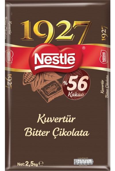 Nestle 1927 Bitter Kuvertür Çikolata 2,5 kg